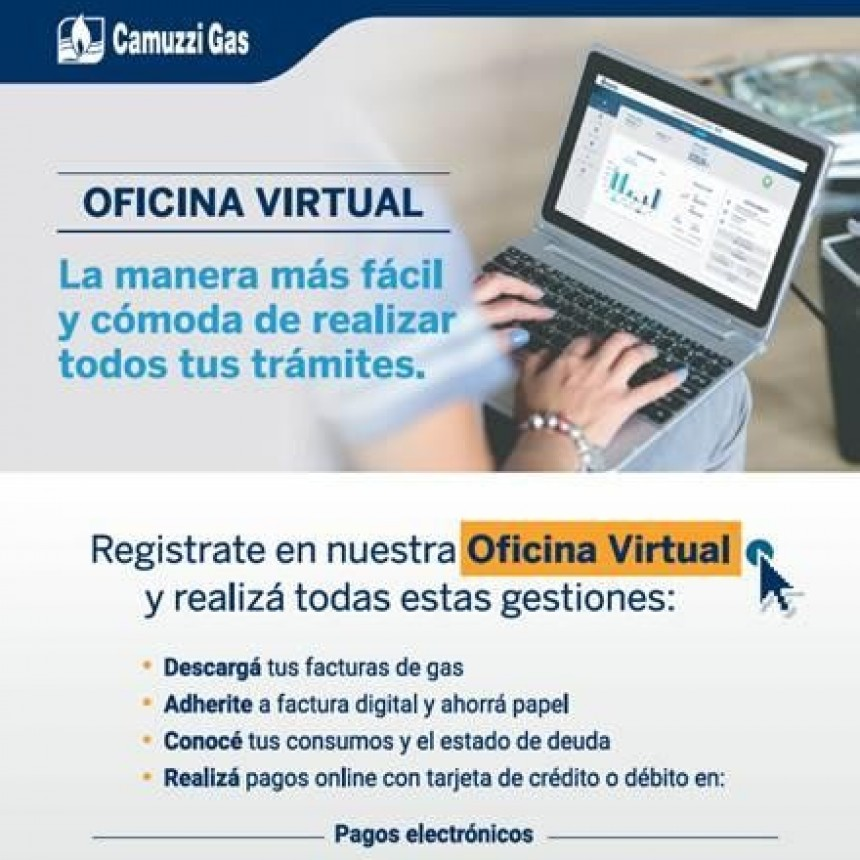 OFICINA VIRTUAL DE CAMUZZI